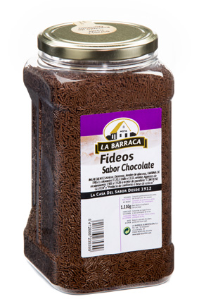 Fideos Sabor Chocolate BOTE GRANEL