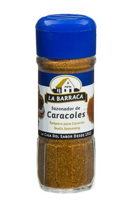 Sazonador Caracoles TARRO CRISTAL