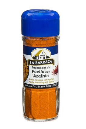 Sazonador Paella con Azafrán TARRO CRISTAL