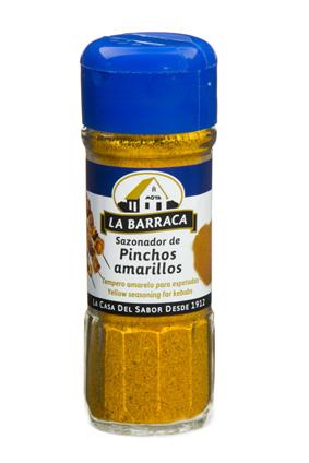 Sazonador <br /> Pinchos Amarillos TARRO CRISTAL