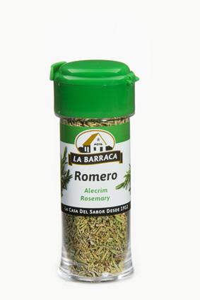 Romero en Hojas Tarro Plástico