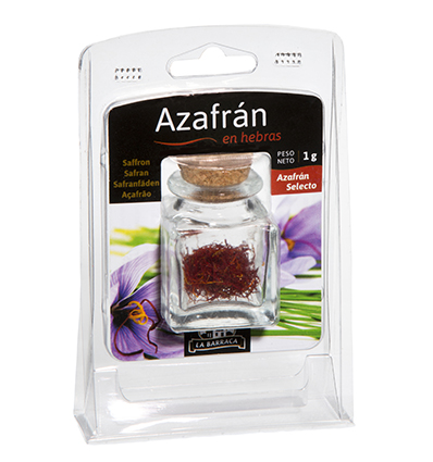 Azafrán Hebra BLISTER TARRO 1 g