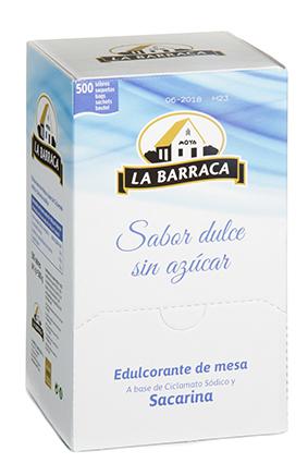 Edulcorante Expositor 500 sobres