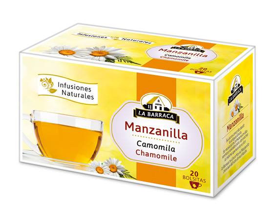 Manzanilla CAJA 20 INFUSIONES<br>sin funda