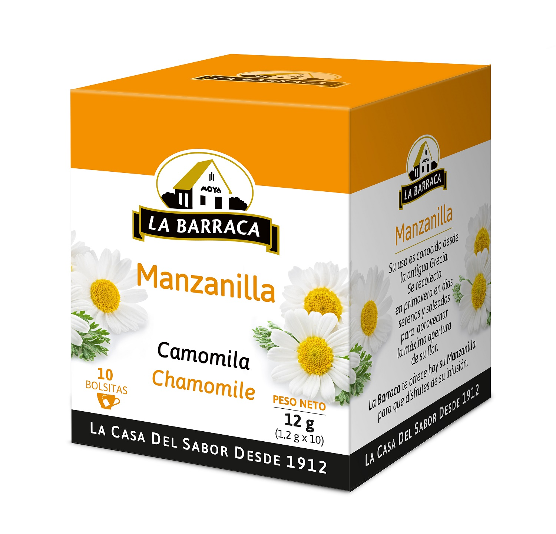 Manzanilla CAJA 10 INFUSIONES SIN FUNDA