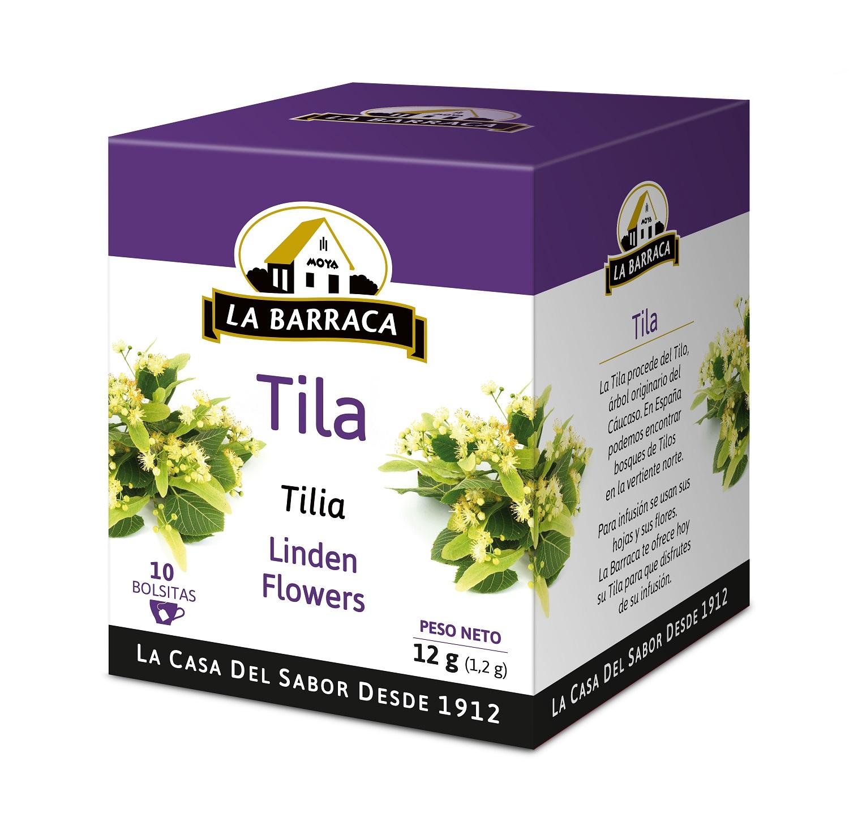 Tila CAJA 10 INFUSIONES CON FUNDA