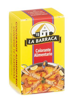 Colorante Alimentario caja 10 carteritas
