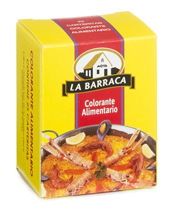 Colorante Alimentario caja 25 carteritas