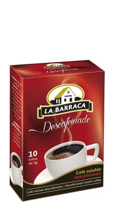 Café Soluble Descafeinado Caja 10 Sobres