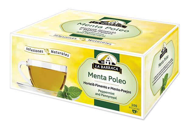 Menta Poleo CAJA 100 INFUSIONES