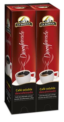 Café Soluble Descafeinado Caja 50 Sobres