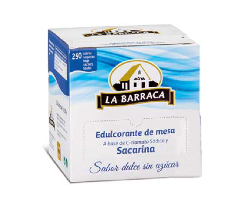 Edulcorante Caja 250 sobres