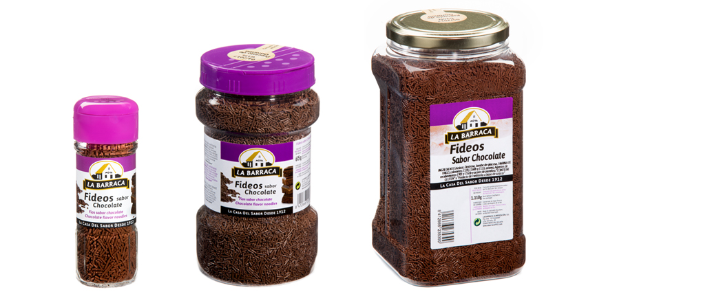 Fideos Sabor Chocolate
