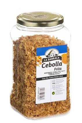 Cebolla Frita<br /> Deshidratada Bote Granel