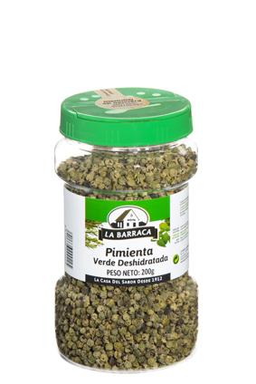 Pimienta Verde<br /> Deshidratada Bote Hotelero
