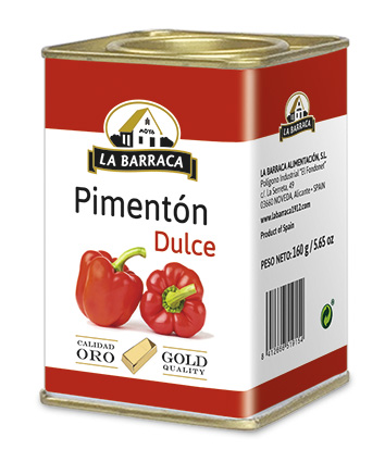 Pimentón Dulce Oro Lata 160 g