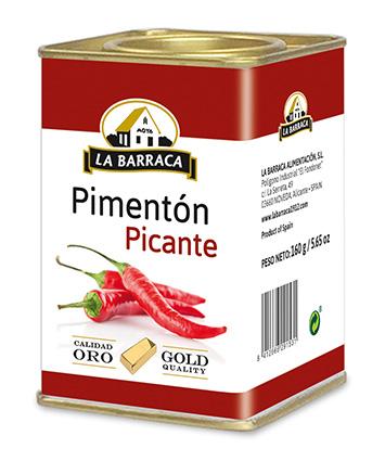 Pimentón Picante <br /> Oro Lata 160 g