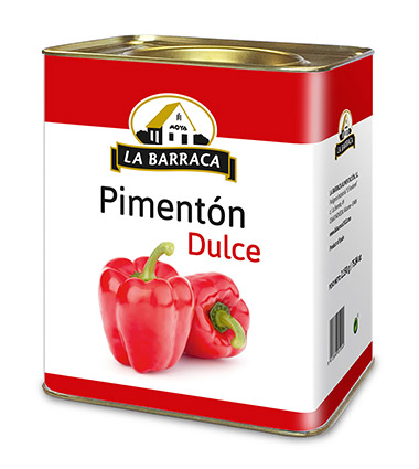 Pimentón Dulce Lata 2,5 k