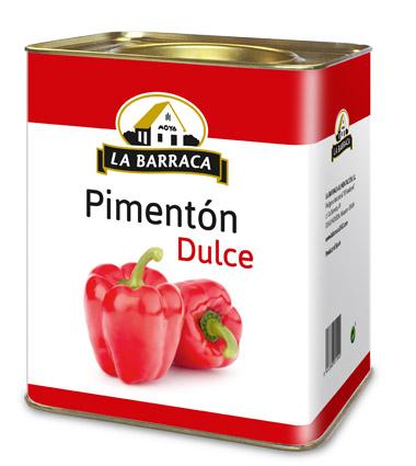 Pimentón Dulce Lata 10 k