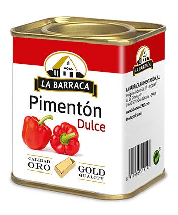 Pimentón Dulce Oro Lata 1 k