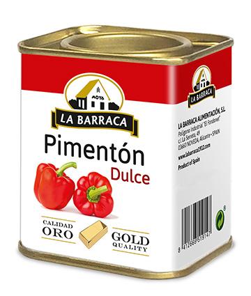 Pimentón Dulce Oro Lata 2,5 k