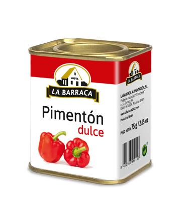 Pimentón Dulce Lata 75 g
