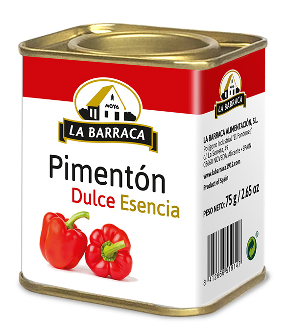 Pimentón Dulce Esencia Lata 75 g