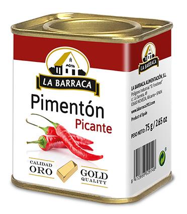 Pimentón Picante <br /> Oro Lata 75 g