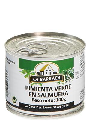 Pimienta Verde<br /> en Salmuera Lata 100 g