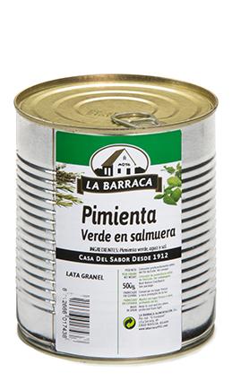 Pimienta Verde<br /> en Salmuera Lata 500 g