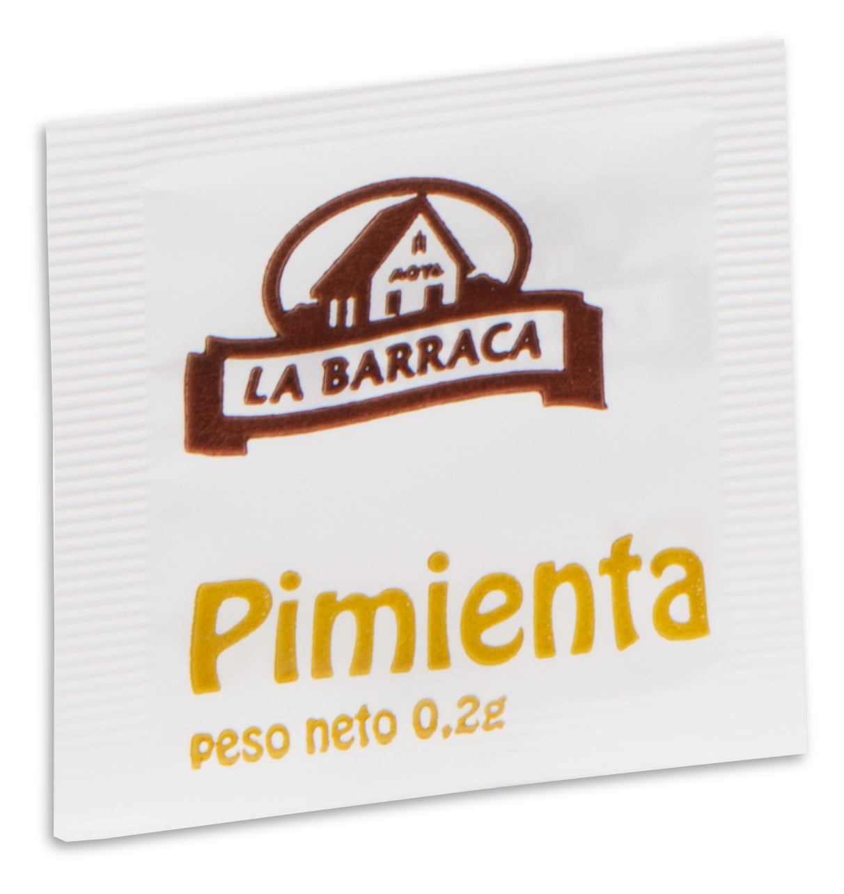 Monodosis Pimienta<br /> Negra Molida 0,2 g.