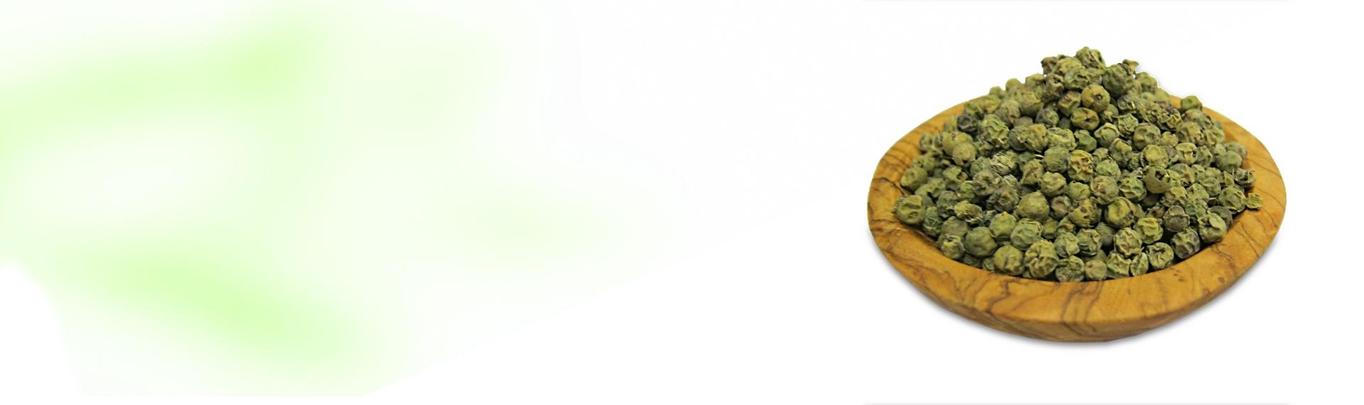 Pimienta Verde<br /> Deshidratada