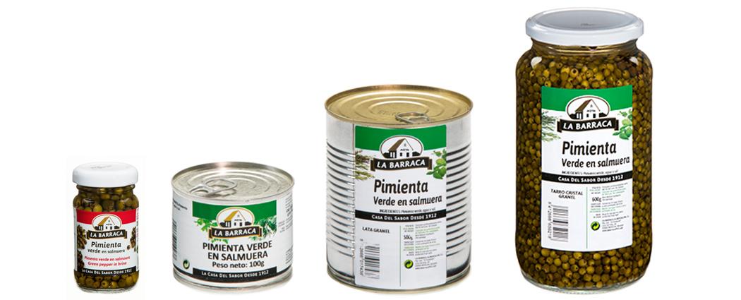 Pimienta Verde<br /> en Salmuera