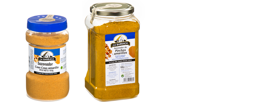 Sazonador<br /> Cous Cous Amarillo
