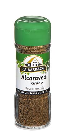 Alcaravea en Grano Tarro Cristal