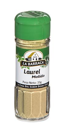 Laurel Molido Tarro Cristal
