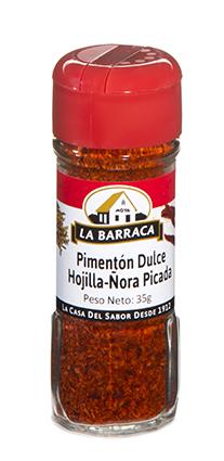 Pimentón Dulce Hojilla<br /> Ñora Picada Tarro Cristal