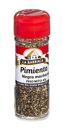 Pimienta Negra Machacada Tarro Cristal