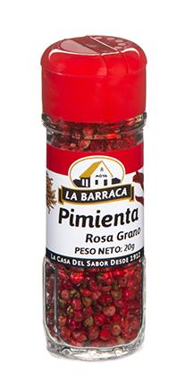 Pimienta Rosa en Grano Tarro Cristal