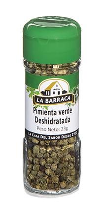 Pimienta Verde<br /> Deshidratada Tarro Cristal