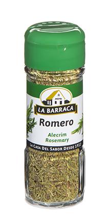 Romero en Hojas Tarro Cristal