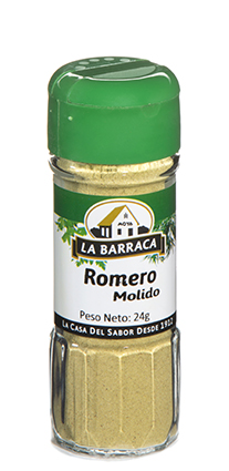 Romero Molido Tarro Cristal