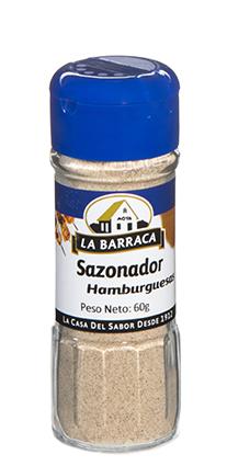 Sazonador Hamburguesas<br />  Tarro Cristal