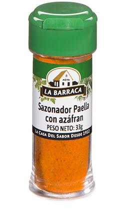 Sazonador Paella con Azafrán TARRO PLÁSTICO