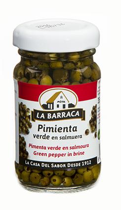 Pimienta Verde<br /> en Salmuera Tarro Cristal 35 g